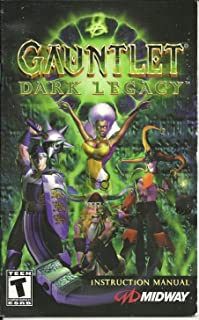 Gauntlet Dark Legacy INSTRUCTION MANUAL Only, NO GAME Playstation 2 F