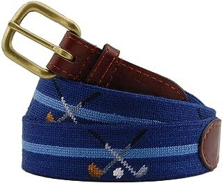 Smathers & Branson Men's Needlepoint Belt