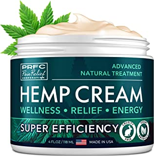Sponsored Ad - Рain Relief Hemp Cream - Made in United States - Natural Hemp Extract Cream for Arthritis, Back & Muscle Рa...