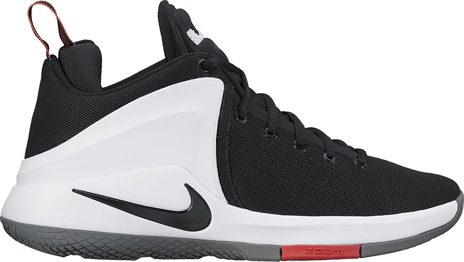 Nike Mens Zoom Witness by Lebron James Lightweight Mid-Top Basketball shoes