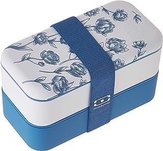 Monbento 3760192684552:MBオリジナル磁器ランチボックス、ブルー
