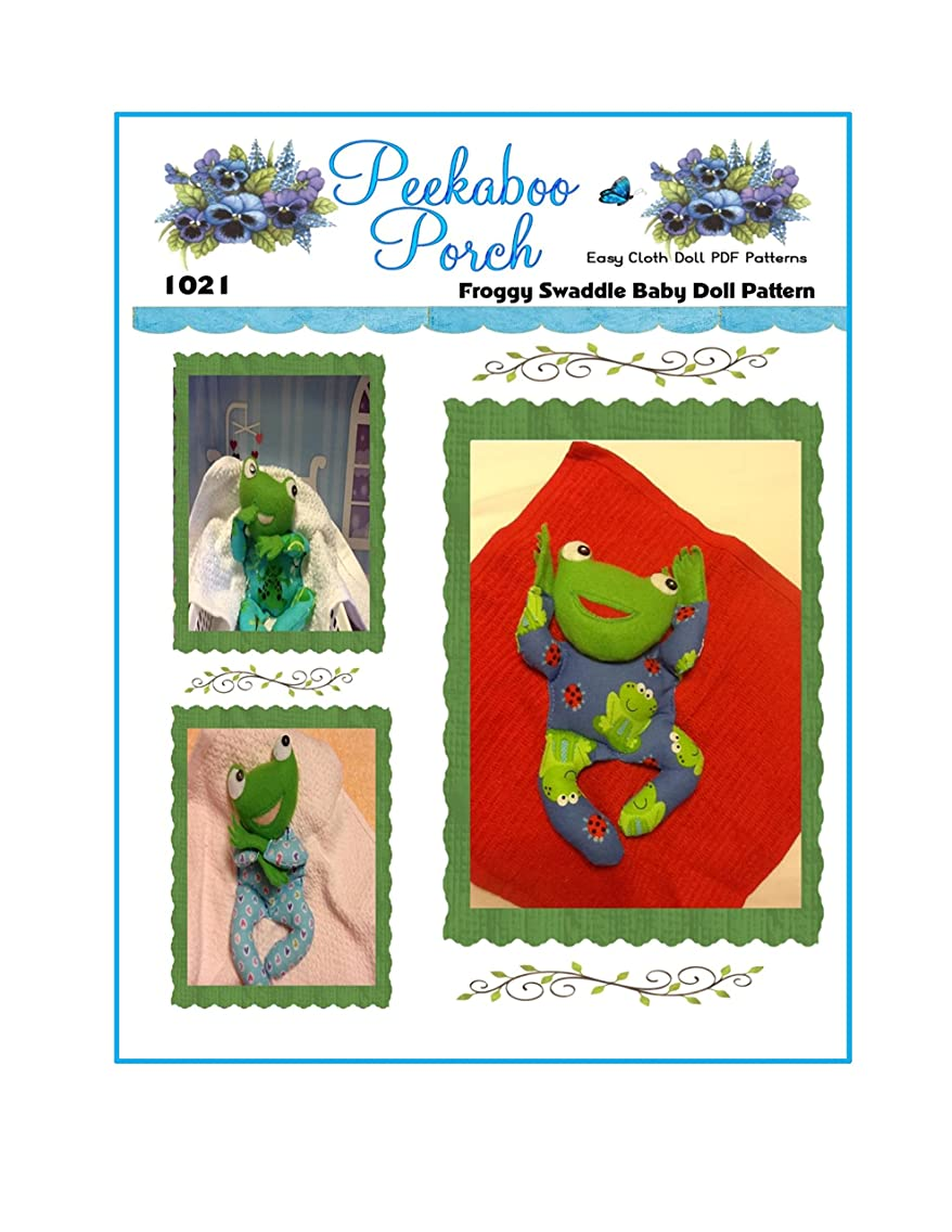 Froggy in a Blanket Swaddle 8