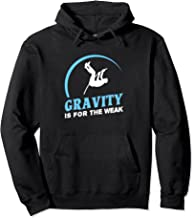 Gravity Is For The Weak Pole Vault Track Hoodie