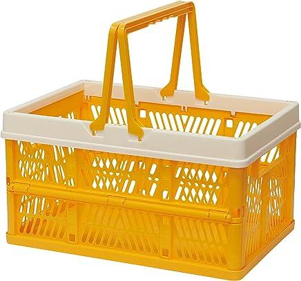 折叠 堆叠 容器盒 黄色 Large 400730002