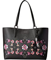 Calvin Klein - Reese Floral Printed Saffiano East/West Tote
