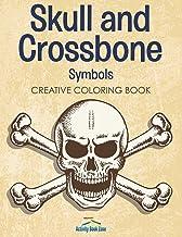 Skull and Crossbone Symbols Coloring Book
