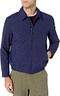 Men's Standard Water-Resistant Zip-Front Golf Jacket