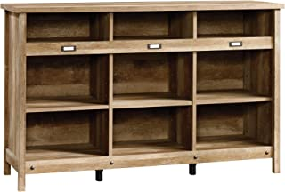 Sauder Adept Storage Credenza, Craftsman Oak finish