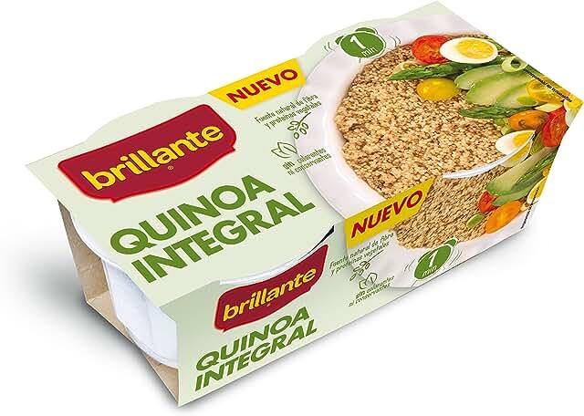 Brillante Quinoa Integral 125G X 2 - [Pack De 8] - Total 2 Kg