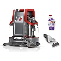 Hoover FH11300PC Spotless Portable Carpet & Upholstery Spot Cleaner (Red)