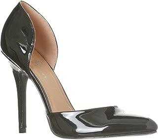 Women's Nora Pointed Toe, Slip On D'Orsay Pump Heels