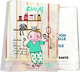 mintkind Carnet de Sante /& passe de Vaccination Lot de 2/ coques de protection For/êt