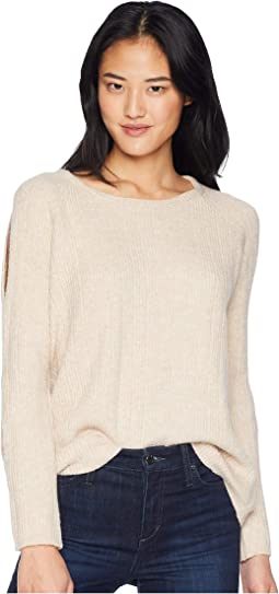 Underneath It All Cold Shoulder Sweater