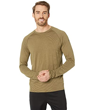Smartwool Merino 150 Baselayer Pattern Long Sleeve (Dark Desert Sand) Men