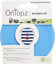 """Silicone Food Lid - 12"""" Dish Cover - Anchor"""