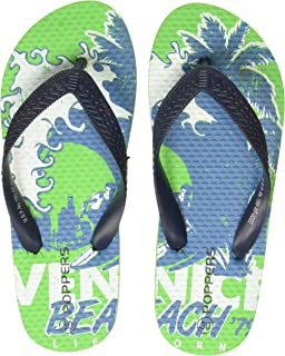 Poppers by Pantaloons Boy's Green Slippers-11 Kids UK (31 EU) (880000997)