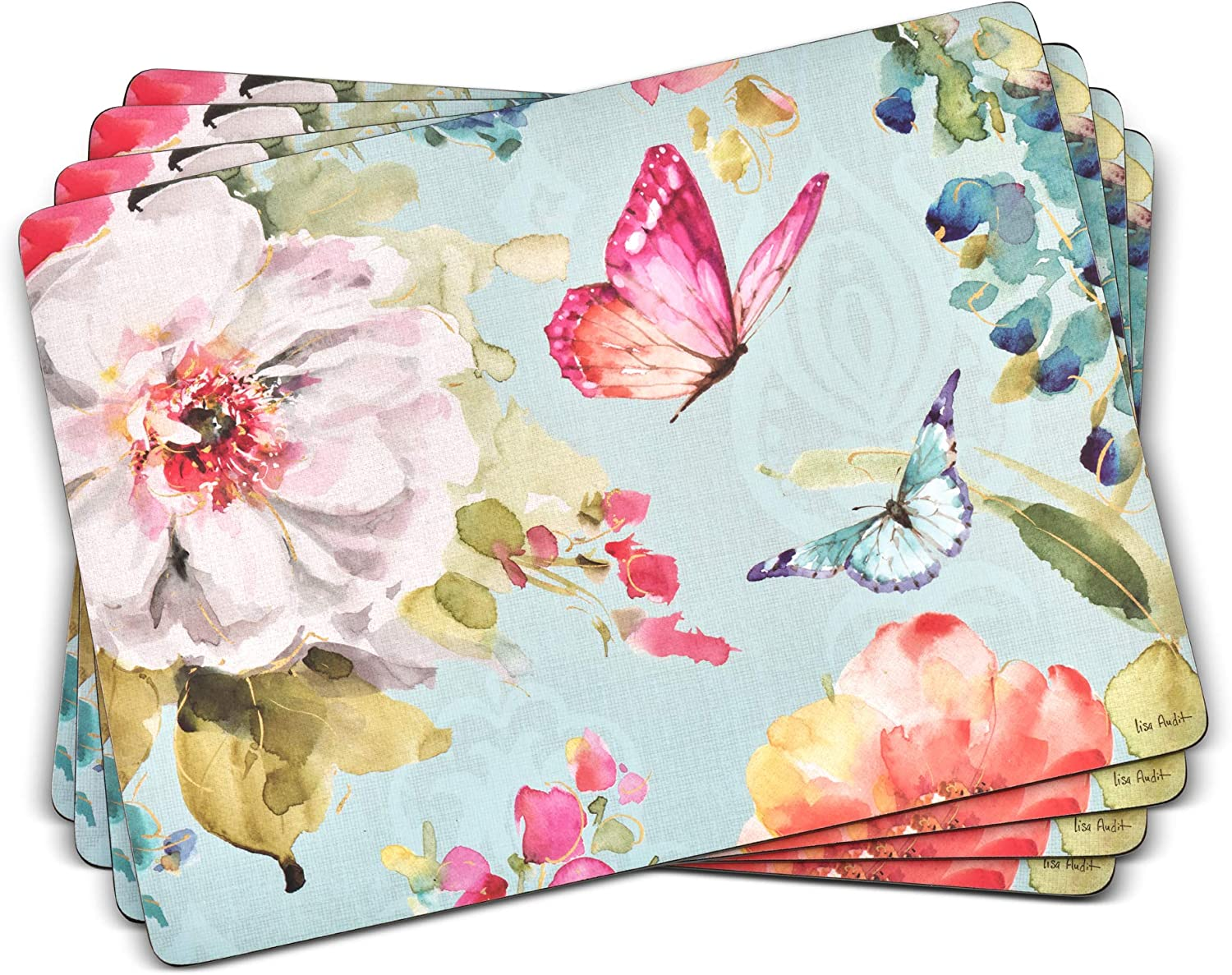 Ranking TOP13 Sale item Pimpernel Colorful Breeze Collection Placemats of - 4 Set
