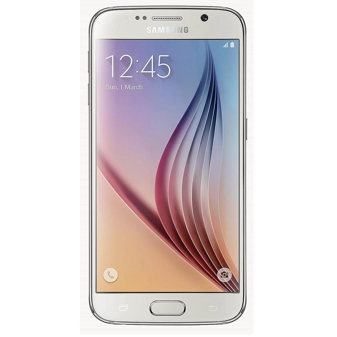 Samsung Galaxy S6 SM-G920F Factory Unlocked Cellphone, International Version, 32GB, White
