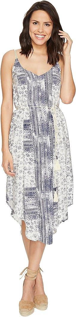 Charlotte Print Midi Dress