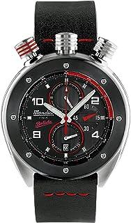 Mondia Bolide Mens Analog Japanese Quartz Watch with Leather Bracelet MI769-4CP