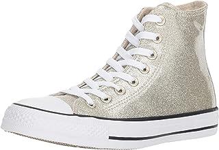 c79fee2b4f1 Converse Women s Chuck Taylor All Star Glitter Canvas High Top Sneaker