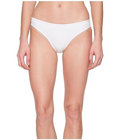 Nike Ribbed Bikini Bottom (White) Women