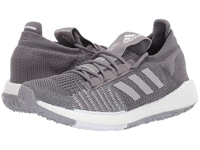 adidas Running  PulseBOOST HD (Grey/Grey/White) Womens Running Shoes