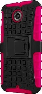 CruzerLite MX1-spi-rosa Spi-Force Dual Layer skyddsskal för New Moto X rosa