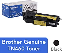 Brother Genuine High Yield Toner Cartridge, TN460, Replacement Black Toner, Page Yield Up To 6,000 Pages
