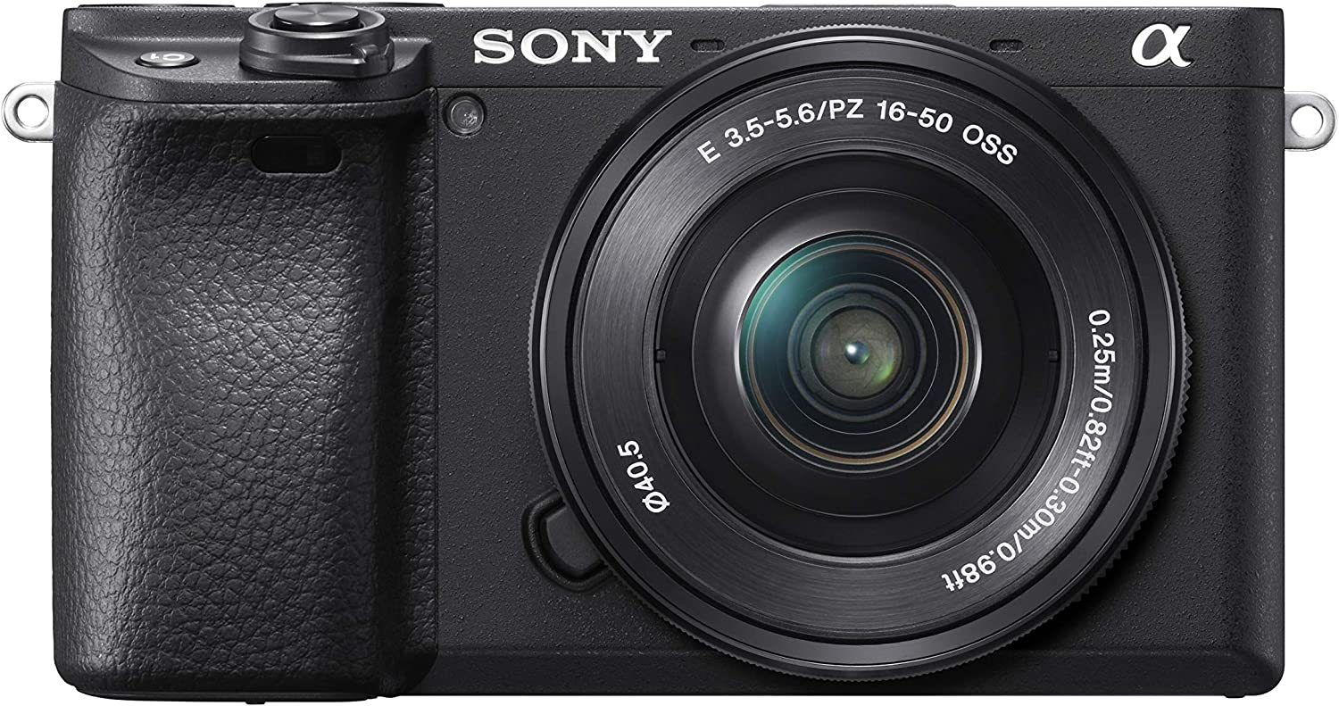 Sony Alpha a6400 mirrorless digital camera for youtube