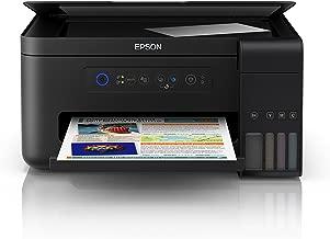 Epson EcoTank ET-2700 | Impresora Wi-Fi A4 Multifunción | Copia/Escaneado/Impresión | Velocidad 33ppm | Resolución 5760x1440ppp | Rendimiento Botellas Tinta Incluidas 6500/5200 páginas Negro/Color