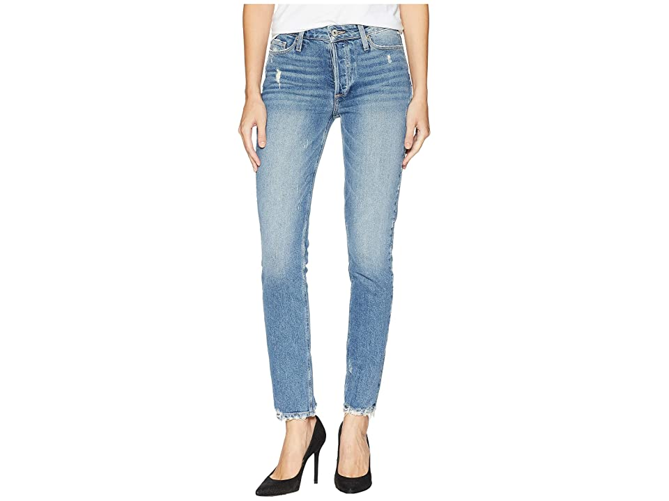 Paige Vintage Hoxton Ankle Peg with Caballo Inseam and Covered Button Fly in Jasa (Jasa) Women's Jeans, Blue