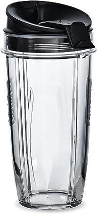 Two 24 oz. Tritan Nutri Ninja Cups with two Sip & Seal Lids (XSK2424)