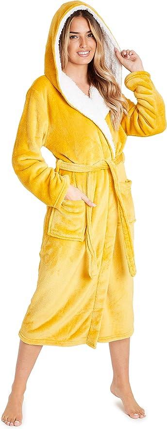 5408 opinioni per CityComfort Vestaglia da Donna con Cappuccio, Vestaglia Donna Invernale in