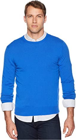 Cashmere Knit Crew Neck Sweater