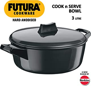 Best hawkins futura hard anodised cook n serve bowl Reviews