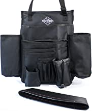Front Car Seat Organizer Comes with 1 Pocket Caddy for Your Car, Truck, Van or SUV Passenger Seat, Designed to Help Moms, Service Techs and Law Enforcement Keep Items Within Easy Reach