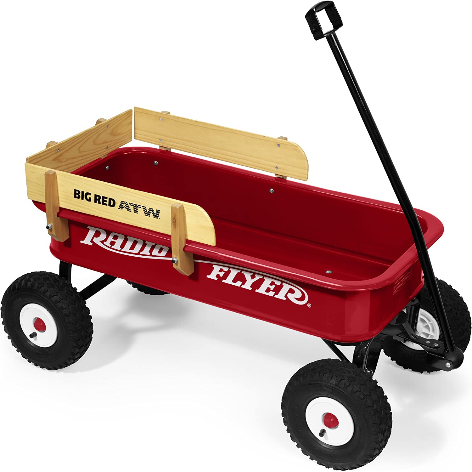 Radio Flyer 3601A Big rot ATW with Wood Sides