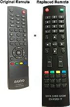 New Replaced Sanyo CS-90283-1T CS902831T Replaced Remote for DP32242 DP55441 DP46142 DP40142 DP42142 TV
