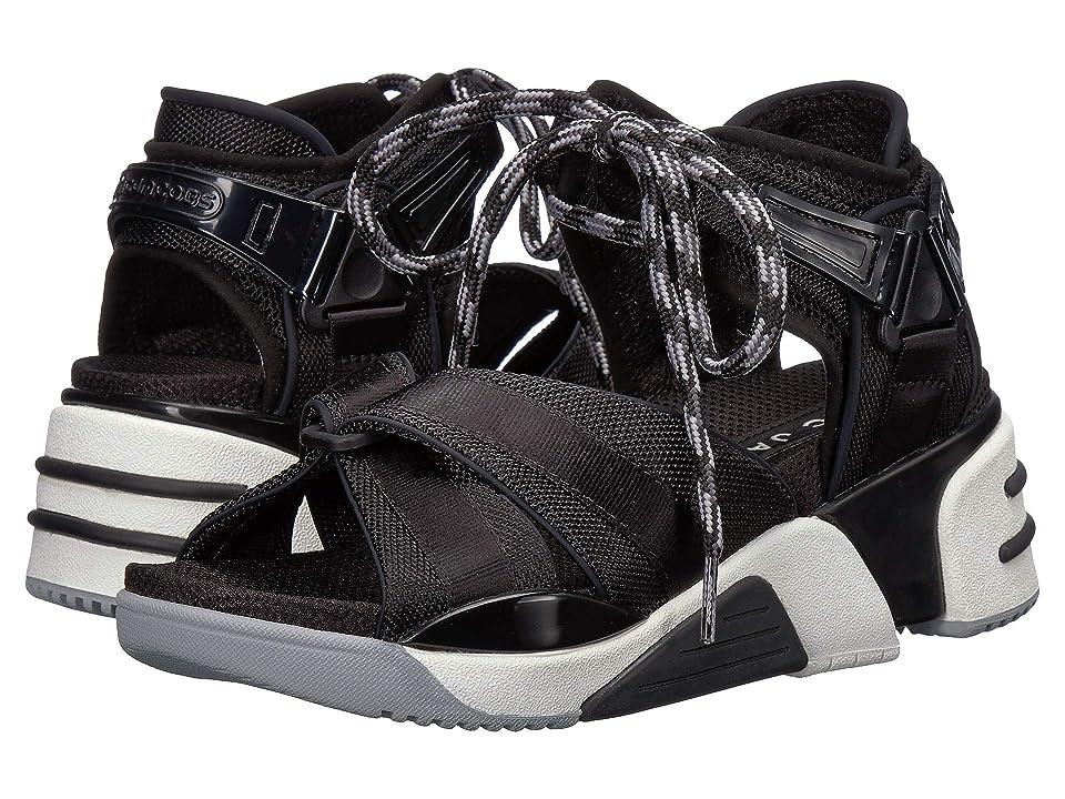 Marc Jacobs Somewhere Sport Sandal with Sock (Black) Women