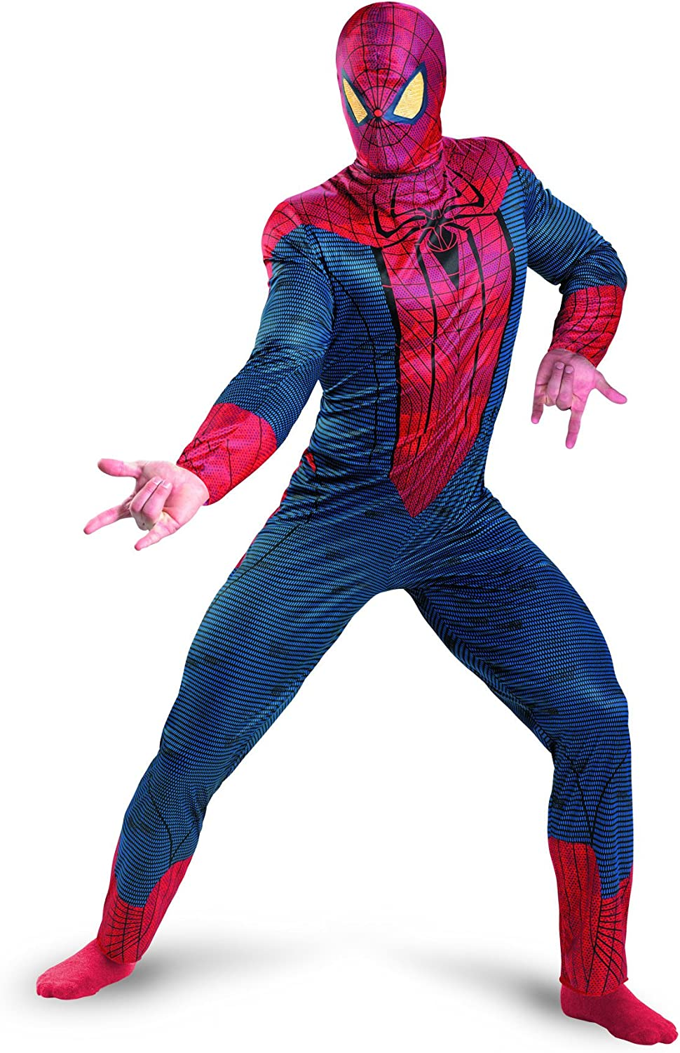 High quality Disguise Marvel The Amazing Spider-Man Adult Classic Movie Ultra-Cheap Deals 3D Co