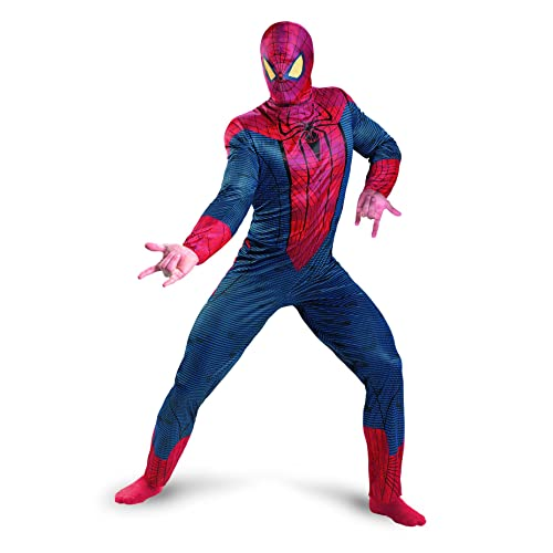f474b04d Disguise Marvel The Amazing Spider-Man 3D Movie Classic Adult Costume