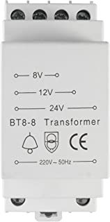Evolution JCL BT8-8 Timbre trafo 8V 12V 24V / 8VA Trafo Transformador Campana Timbre de Puerta Campana Gong