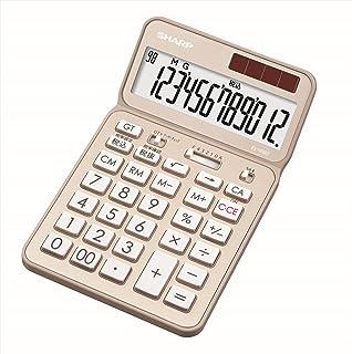シャープ 電卓50周年記念モデル ナイスサイズモデル ゴールド系 EL-VN82-NX