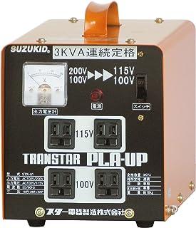 SUZUKID ポータブル変圧器 トランスタープラアップ STX-01