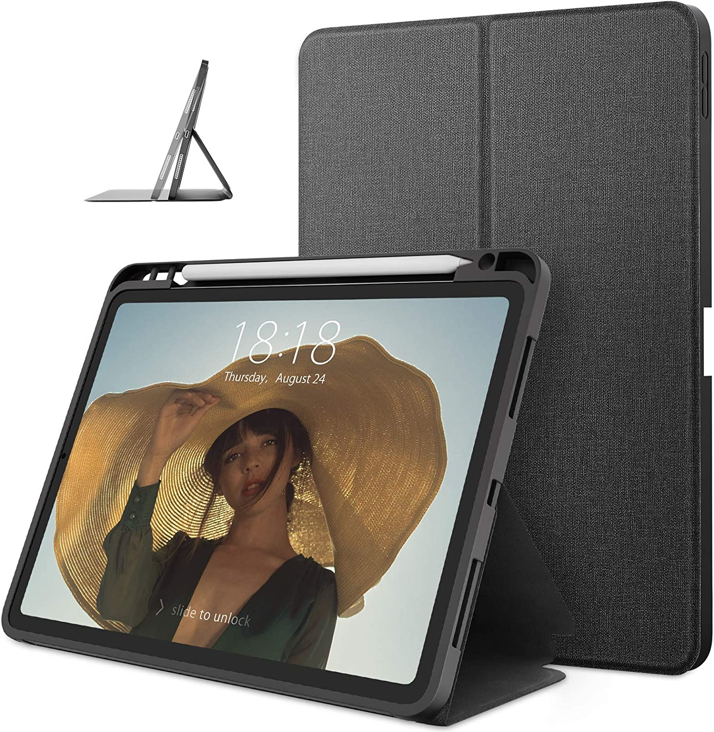 DTTO Case Phoenix Mall for Credence iPad Air Double-fold Folio 2020 4 10.9