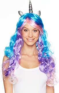 Assortment of Unicorn Wigs And Headpieces