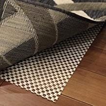 iPrimio Non Slip Rug Pad 5' x 8' for Bathroom, Kitchen and Outdoor Area - Extra Grip for Hard Surface Floors