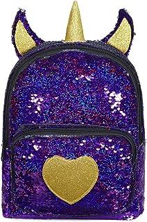 Cute Glitter Flip Sequins Tiny Mini Backpack Purse for Girls