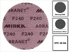 Mirka Coarse Cut 8-fach gelochte Scheiben GRIP P120 /Ø 125 mm 50 Stk.